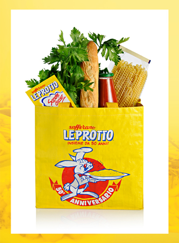 zafferano leprotto shopper 50