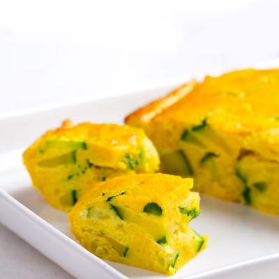 Frittata con zucchine e Zafferano Leprotto