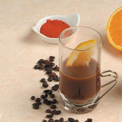 Bibita al caffè e zafferano