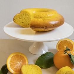 Ciambella profumata all'arancia e Zafferano Leprotto