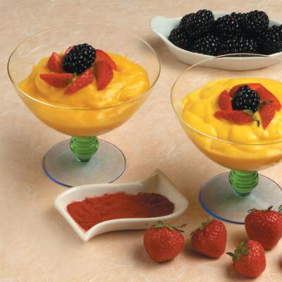 Composta di frutta allo zafferano