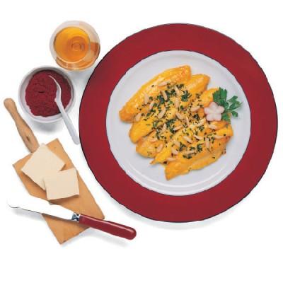 Sogliola con salsa allo Zafferano e Pinoli