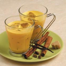Frappé vaniglia e zafferano