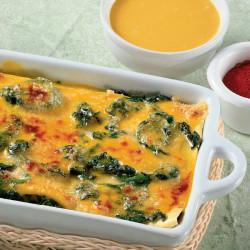 Lasagne Gialle Spinaci e Gorgonzola