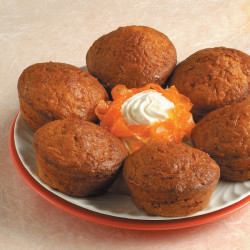 Muffin di carote e zafferano