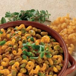 Pasta con Fave e Maggiorana