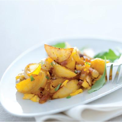 Pasticcio di patate allo zafferano
