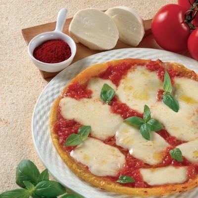 Pizza margherita allo Zafferano