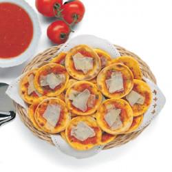 Pizzette allo Zafferano