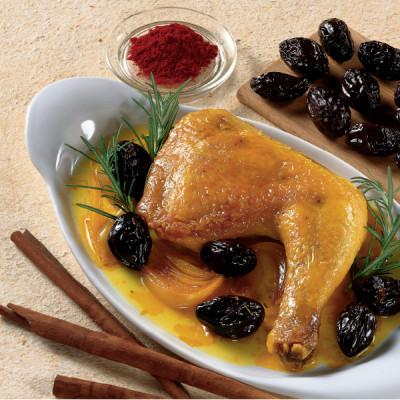 Pollo Dorato con Prugne