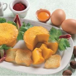 Sformatini d'uovo allo Zafferano