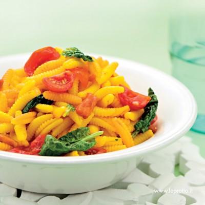 Gnocchetti sardi con spinaci
